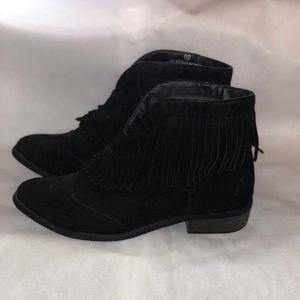 Women's Black Booties